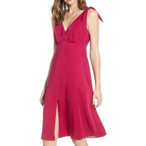 Cupcakes and Cashmere Soft Crepe Tie Dress 8